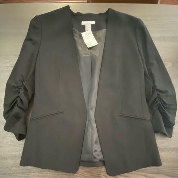 Women's H&M black blazer NWT